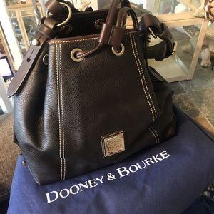 Dooney and Bourke drawstring handbag hobo